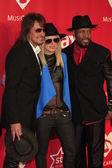 Richie Sambora, Orianthi, Michael Bearden — Stock Photo
