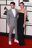 Nick Jonas, Olivia Culpo — Stock Photo