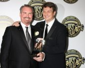 Bill Roe, Nathan Fillion — Foto de Stock
