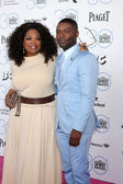 Oprah Winfrey, David Oyelowo — Stock Photo