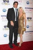 Lou Ferrigno, Carla Ferrigno — Stock Photo