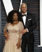 Oprah Winfrey, Stedman Graham — Stock Photo
