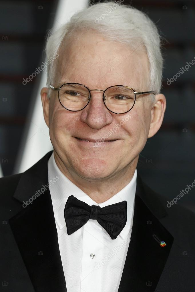 LOS ANGELES - FEB 22: Steve Martin at the Vanity Fair Oscar Party 2015 at the Wallis Annenberg Center for the Performing Arts on February 22, ... - depositphotos_66049903-Steve-Martin