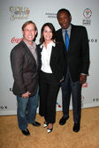 Bart Connor, Nadia Comaneci, Rafer Johnson — Photo