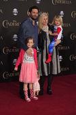 Jeremy Sisto, wife Addie Lane, children — Stock Photo