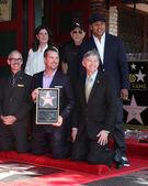 Chamber Official, Mitch O'Farrell, Paul Brinkman, LL Cool J, Chris O'Donnell, Leron Gubler — Stock Photo
