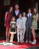 Caroline Fentress O'Donnell, Chris O'Donnell, Lily Anne O'Donnell, Charles Mchugh O'Donnell, Finley O'Donnell, Maeve Frances O'Donnell, Christopher O'Donnell Jr — Zdjęcie stockowe
