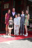 Caroline fentress o'donnell, chris o'donnell, лилия anne o'donnell, charles mchugh o'donnell, finley o'donnell, maeve frances o'donnell, christopher o'donnell младший — Стоковое фото