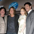 Scott Borchetta, Keith Urban, Jennifer Lopez, Harry Connick Jr. — Stock Photo #67217605