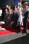 Tom LeBonge, Leron Gubler, Molly Shannon, Will Ferrell, John C. Reilly, Eric Garcetti — Stock Photo