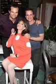 Scott Elrod, Kate Linder, Christian LeBlanc — Stock Photo