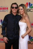 Tyler Hubbard, Hayley Stommel — Stock Photo