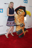 Joey King, Puss in Boots — Stock Photo