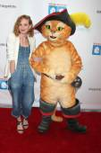 Jayma Mays, Puss In Boots — Stock Photo
