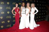 Lindsay Hartley, Chrystee Pharris, Crystal Hunt, Donna Mills — Zdjęcie stockowe