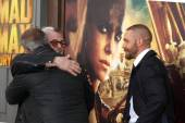 George Miller, Tom Hardy, Mel Gibson — Stock Photo