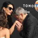 Постер, плакат: Amal Alamuddin Clooney George Clooney