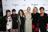 Frances Fisher, Selma Blair, Marianne Williamson, Kelly Rutherford, Melanie Griffith, Kris Jenner — Stock Photo