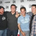 Scott Grimes, Bob Guiney, Adrian Pasdar, Greg Grunberg — Stock Photo #74832013