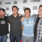 Scott Grimes, Bob Guiney, Adrian Pasdar, Greg Grunberg — Stock Photo #74832061