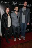Riley Bodenstab, Greg Meller, Josh Mendoza — Stock Photo