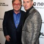 Elton John, David Furnish — Stock Photo #76001547