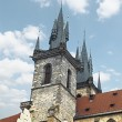 Church of our Lady Tyn (1365) in the Magical city of Prague. — Stock Photo #74549707