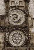 Astronomical Clock in Prague, Czech Republic. — Stock Photo