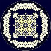 Velký vzor pro tapetu, oděvy, porcelán — Stock vektor