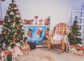 Tanne baum dekoration — Stockfoto