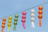 Thai festival decoration with lantern, thailand. — Stockfoto