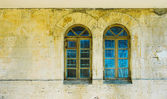 Old windows — Stockfoto