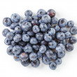 Fresh wet blueberries top view — Stock Photo #68695699