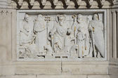 Bas-relief of St. Stephen of Hungary, Budapest. 10 — Stock Photo