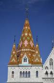 Basilica of Our Lady of the Assumption of the Castle Hill, Budap — Stock Photo
