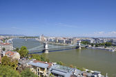 Panoramic view of Budapest. 5 — Stock Photo