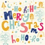 Merry Christmas greeting card — Stock Vector #57786165