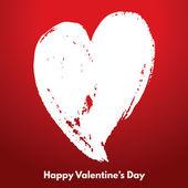 Happy Valentine's Day greeting card — Stockvektor