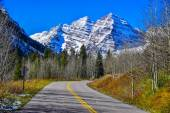 Maroon Bells Mountain Drive — Stock Photo