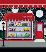 Toy Shop — Vettoriale Stock