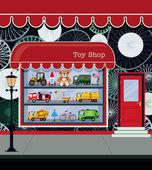 магазин игрушек — Cтоковый вектор