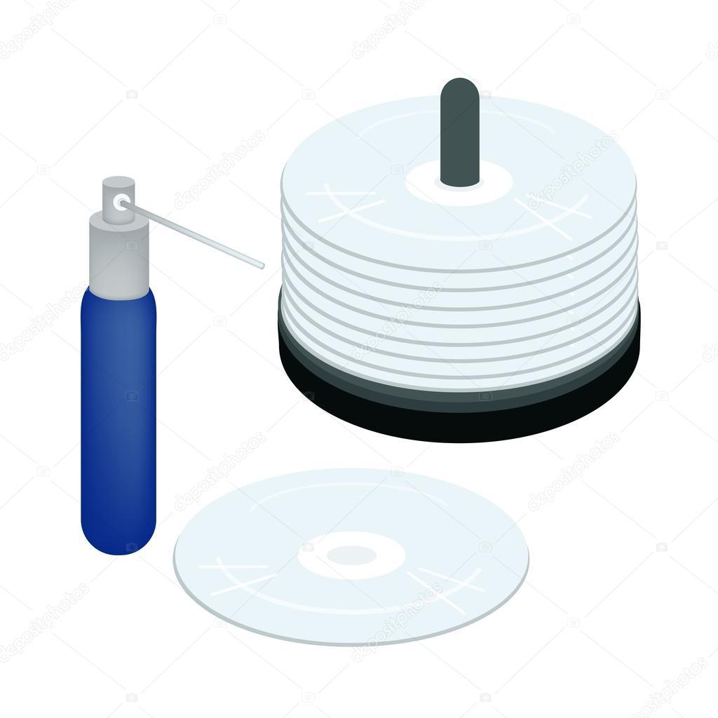 Dvd schoonmaak disc