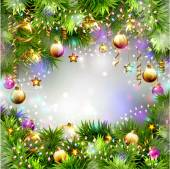 Creative Christmas background — Stock Vector