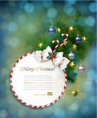 Holiday Christmas background — Stock Vector