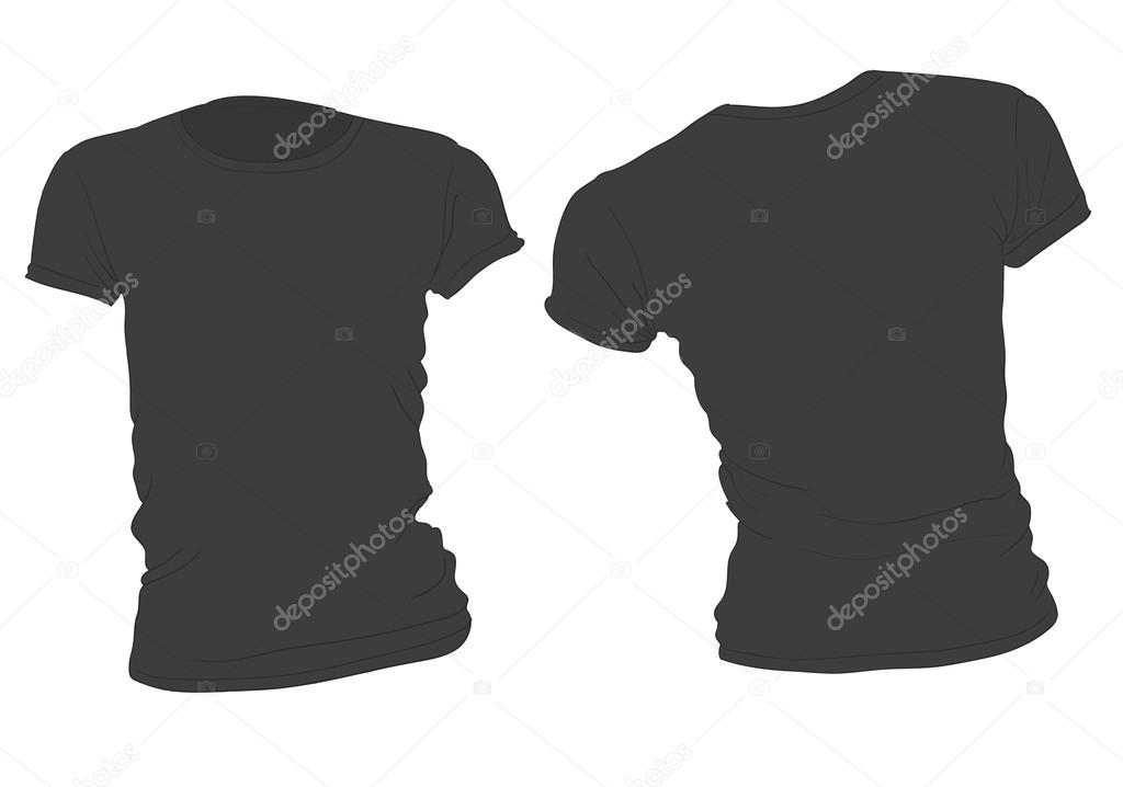 T-Shirt Template Illustrator | Out-Of-Darkness