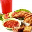 Indonesia Fried Chicken — Stock Photo #52849177
