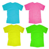 Blank T-Shirt Template — Stock Photo