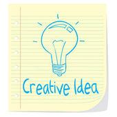 Creative Idea — Stock Vector