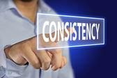 Consistency Concept — Foto Stock