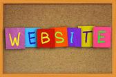 Concetto del sito Internet — Foto Stock